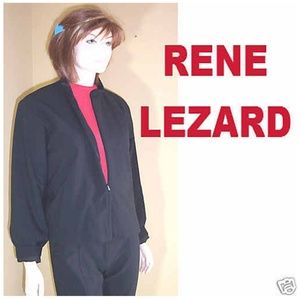 New RENE LEZARD Zip-Up Jacket HIGH END COUTURE
